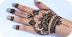 Henna Tutorial #3 - Ganze Hand | Sanny Kaur