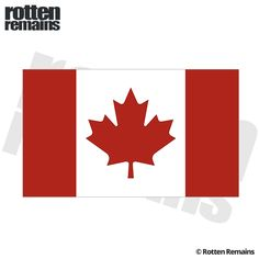 Canada Canadian Flag Sticker Decal Adhesive Vinyl, Decals, Canada, Stickers, Art, Art Background, Tags, Sticker, Kunst