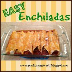 Sarah Lynn's Sweets: Something Savory #8: Quick and Easy Dinner Recipe