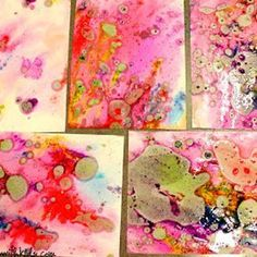 9 Paper Marbling Tutorials That You've Been Waiting For