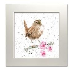 Wrendale Designs, Award Winning Greeting Cards, Stationery and Gifts. Watercolor Bird, Watercolor Animals, Watercolor Paintings, Watercolours, Spring Pictures, Bird Pictures, Art And Illustration, Painting For Kids, Painting & Drawing
