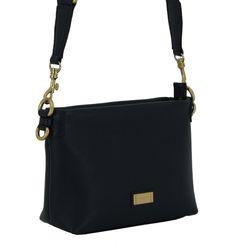 Handtasche Alyssa Leder Gianni Chiarini Nero schwarz Bags, Fashion, Black Leather, Leather Bag, Handbags, Moda, Fashion Styles, Fashion Illustrations, Bag