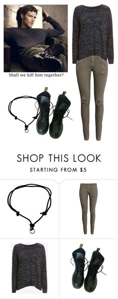 """Klaus Mikaelson - tvd / the vampire diaries / the originals"" by shadyannon ❤ liked on Polyvore featuring H&M, rag & bone/JEAN and Dr. Martens"