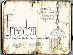 beautifully said, no one is free when others are opressed