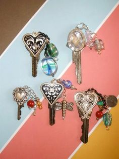 Crafty This and That: Altered Keys!