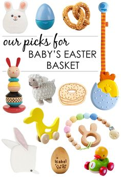 Non-Candy Ideas for Baby's Easter Basket