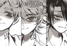 Read The Promised Neverland / Yakusoku no Neverland Manga chapters in English online! Manga Anime, Manga Art, Anime Art, Norman, Series Manga, Otaku, Fanart, Cute Anime Couples, Manga Reader