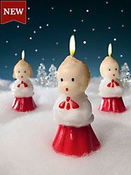 Christmas Accents   Holiday Candles And Victorian Tin Tinsel. MEMORIES OF DAYS LONG GONE BY!!!