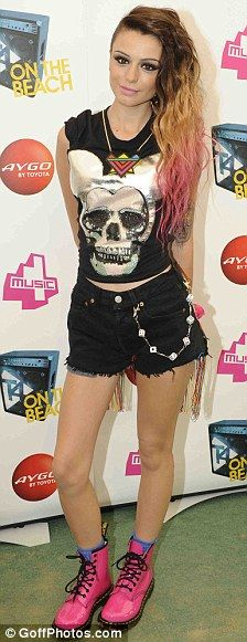 love her!! 3rd year as her for Halloween! <33 Cher Lloyd!