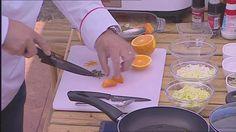 Creme de abóbora e cenoura - Chefs' Academy 2014 - Portugal