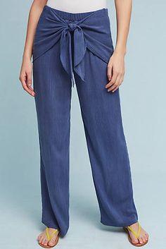 Irina Tie-Front Pants