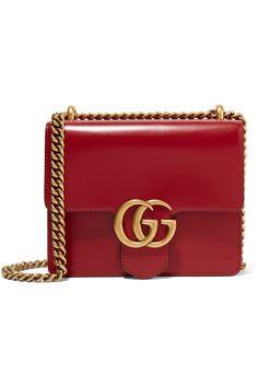335e445ea25 Gucci - GG Marmont mini leather shoulder bag