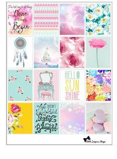 Pastell Dream Erin Condren Aufkleber von LittleSurpriseShop auf Etsy