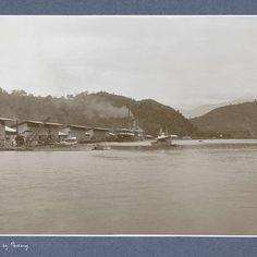 Gezicht op de Emmahaven in Padang, Christiaan Benjamin Nieuwenhuis (attributed to), c. 1900 - c. 1920 - Rijksmuseum/stg.