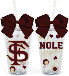FSU Seminoles Nole Princess Fan Inspired by LylaBugDesigns on Etsy, $15.00