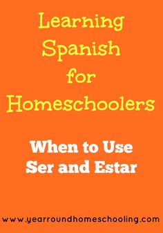 Selena shares a lesson on why it's important to learn the difference between ser and estar in spanish.