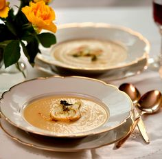 Fennel Cream Soup with Caramelized Fennel Recipe - JoyofKosher.com