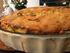 Cooking With Hetty!: Hetty's sausage and mushroom frittata!