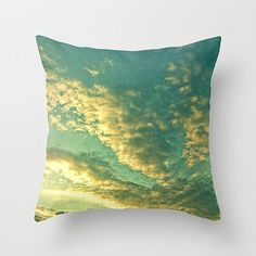 Clouds- Throw Pillows From Etsy