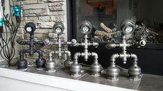 Lampe tube tuyau industriel