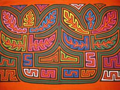 Rita Smith Cuna Molas Handmade Textiles Molitas Mola Art Of The Kuna Indians of San Blas Panama