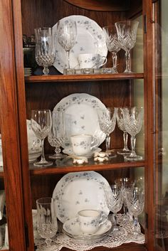 Arrange China In Hutch   Google Search