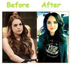 Victorious - Jade West - Before and After