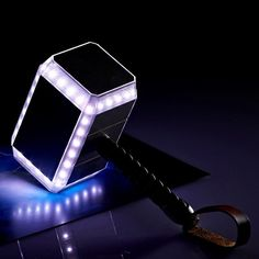 The Thor Hammer Power Bank from Taiwanese company InfoThink will help you charge everything from mobile phones to digital cameras and tablets, music players, etc. Thor 2, Unique Gifts For Him, The Dark World, Nightlights, Thors Hammer, Cool Gadgets, Phone Accessories, Wells, The Darkest