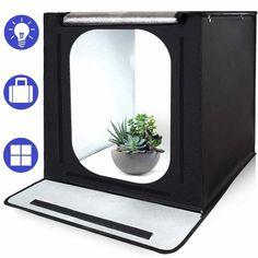 Mini Photo Studio, Portable Photo Studio, Softbox Photography, Light Photography, Product Photography, Photo Light Box, Photo Studio Lighting, Box Studio, Paper Background