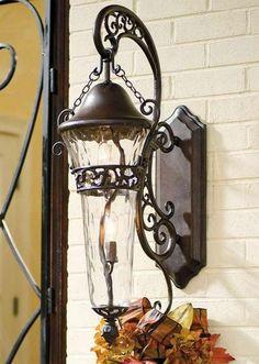 bel éclairage dans les idées de conception de jardin lampe extérieure sur le mur