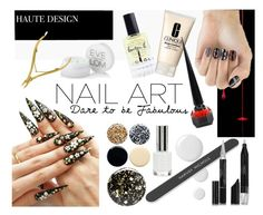"""Fall Nail Art"" by istyled ❤ liked on Polyvore featuring beauty, West Elm, Nails Inc., JINsoon, Elegant Touch, Lauren B. Beauty, Clinique, Eve Lom, Christian Louboutin and Tweezerman"