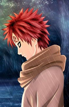 Naruto Cover Chap 248 : Gaara by MimiSempai on DeviantArt Naruto Shippuden Sasuke, Naruto Kakashi, Anime Naruto, Naruto Clans, Anime Guys, Boruto, Sasunaru, Gaara Cosplay, Anime English