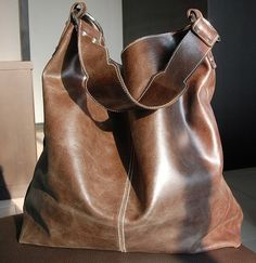 I need a big brown leather bag. Everyone does, right?