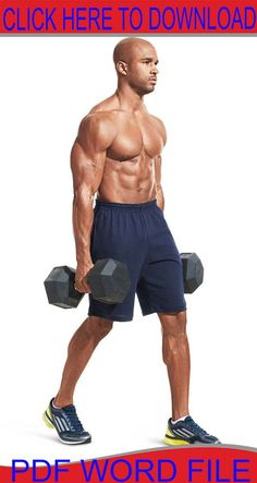 Shoulder Workouts: The 30 Best Shoulder Exercises are the best exercises for shoulders and will help build bigger, broader, muscular shoulders. Ab Workout Men, Insanity Workout, Best Ab Workout, Dumbbell Workout, Workout Plans, Workout Routines, Workout Style, Workout Schedule, Workout Fitness
