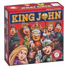 King John Jungle Speed, Bord Games, King John, Video Game, Baseball Cards, Artwork, Strategy Games, Gaming Rules
