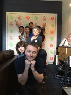 It's always a fun time when The Walking Dead cast and Chris Hardwick hang out at our SDCC Conival!