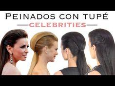 Peinados con tupé de las Celebrities. Celebrities hairstyles with volume.