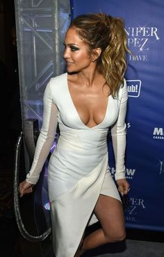 Jennifer Lopez attends the after party for her residency 'JENNIFER LOPEZ: ALL I HAVE' and the grand opening of Mr. Chow at Caesars Palace on January 21, 2016 in Las Vegas, Nevada. Complex Magazine