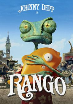 Rango (2011) Johnny Depp lends his voice to the title character, an adventurous family pet who leaves home to learn more about himself in this comic animated tale also featuring the vocal talents of Abigail Breslin, Harry Dean Stanton and Ned Beatty.