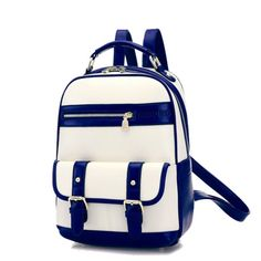 I am so happy to find the College Double Hasp Zipper Mixed Color Travel Backpack School Bag from ByGoods.com. I like it <3!Do you like it,too?