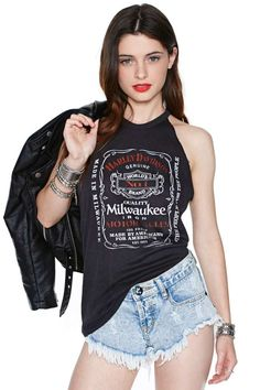 Harley Davidson Ride On Tee