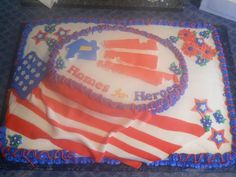 Cake made for Homes for Heroes
