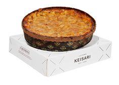 Tosca-kakku, 11 €. Viiden hengen kakku. Uudistettu mantelimassapohja, jonka päällä rapeaksi paahdettu manteli-sokerikuorrutus. Norm. 16 €.  LEIPOMO KEISARI, E-TASO