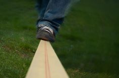 i would love to learn to slack line<3
