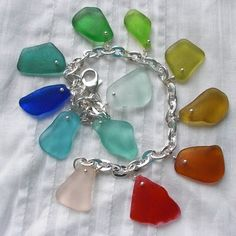 Sea Glass Jewelry by Ecstasea    Genuine Beach Collected Treasures. Handmade. Rare Colors. One of a kind.