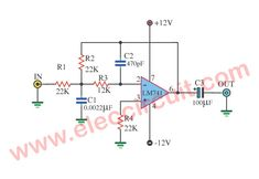 Many filter circuit to hum noise, from audio signal away. This is Hum Filter circuit using electronic coil,Frequency filter Circuit Projects, Radio Frequency, Electronics Projects, Filters, Audio, Tutorials, Construction, Tools, Amp