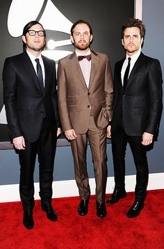 Grammys - Kings of Leon, Nathan, Caleb and Jared Followill