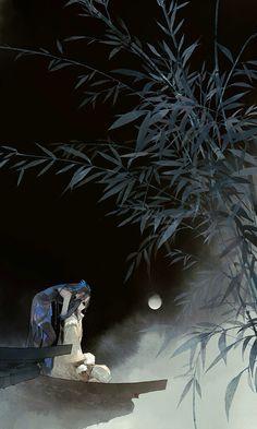 Môn phái: Đường Môn (nữ) x Tàng Kiếm (nam) - Game: VLTK 3D - Artist: 伊吹五月 (Ibuki Satsuki) | Periacon Anso