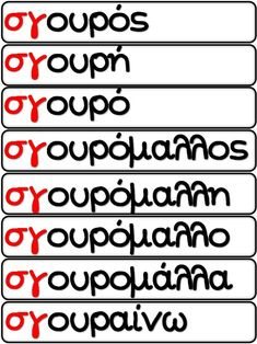 Alphabet, Learn Greek, Greek Language, Back 2 School, Kids Corner, Speech Therapy, Special Education, Grammar, Classroom
