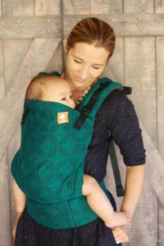 (Toddler Size) Half Wrap Conversion Tula Toddler - Oscha Starry Night Maya (standard $340, toddler $380)